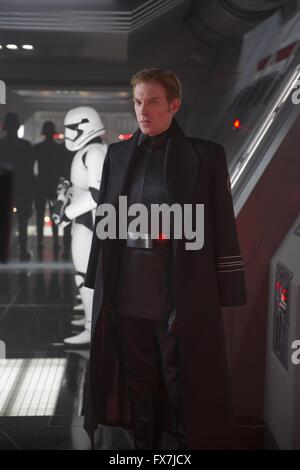 Star Wars Episode VII star Domhnall Gleeson seen with a ...