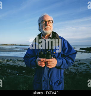 Dr John Wilson Foster. Jack Foster is an Irish writer and philosopher,  expert on both RMS Titanic and the Passenger - Stock Photo