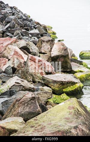 Lake Balaton Hungary The Water Level In The Resort Of