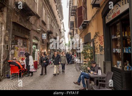 Via san gregorio armeno famous for presepi christmas for Craft stores naples fl