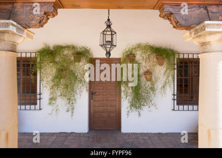Viana Palace at the courtyard gardens in Cordoba, Spain Stock Photo, Royalty ...