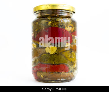 Peppers jar - Stock Photo