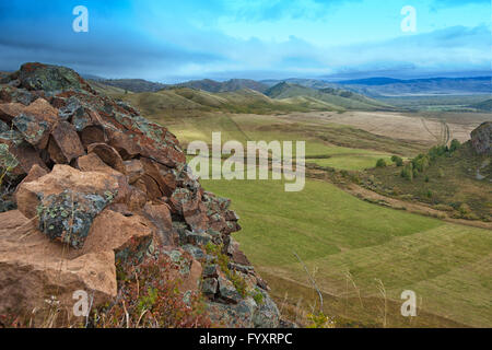 mountains in beauty day - Stock Photo