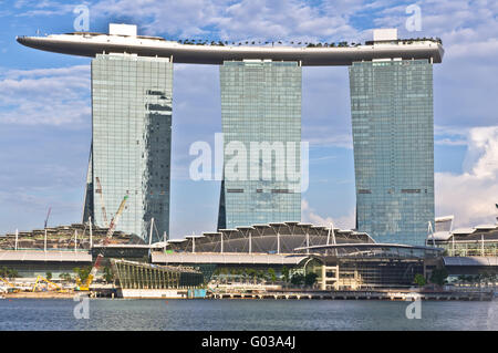 Marina  Bay Sands, Singapore - Stock Photo