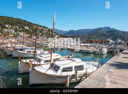 view of Palma de Mallorca in Majorca Balearic islands Spain - Stock Photo