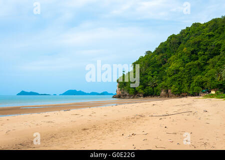 Beautiful view of beach - Stock Photo