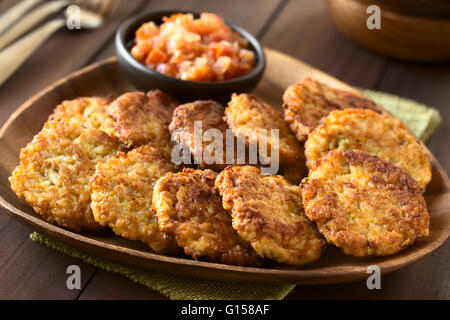 Carrot Cake Fritters