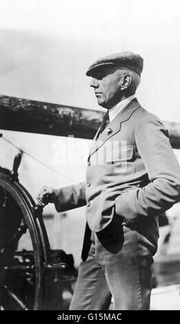 Roald Engelbregt Gravning Amundsen (July 16, 1872 - June 18, 1928) was a Norwegian explorer of polar regions. He - Stock Photo