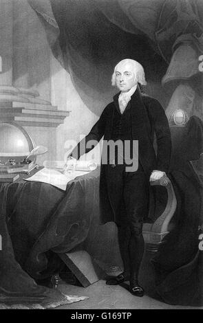 the history of the political career of james madison the fourth president of the united states Read the today in history feature about james madison, fourth president of the united madison took the oath of office as fourth president of the united states.