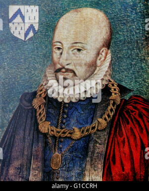 french essayist michel de montaigne Given the huge breadth of his readings, montaigne could have been  in italy in  the army of king francis i of france he came back with the.