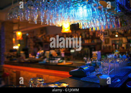 Interior Of Modern Cafe Counter Stock Photo Royalty Free