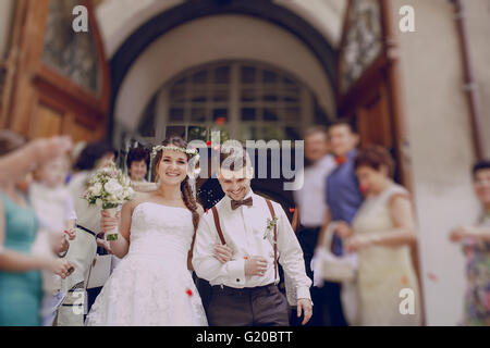 wedding in Poland - Stockfoto