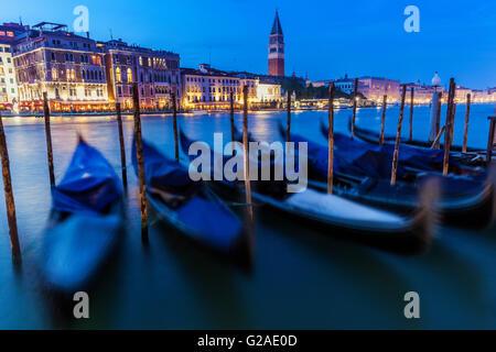 Gondolas in Venice Venice, Veneto, Italy - Stock Photo