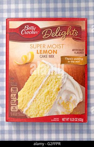 Betty Crocker Sunny Lemon Cake Mix