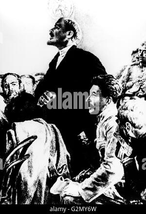 the role of vladimir ilich lenin in the russian october revolution Vladimir ilyich ulyanov,  he returned to russia to play a leading role in the october revolution,  aside from russian, lenin spoke and read french, .