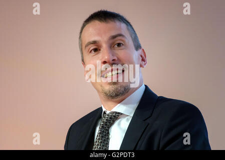 Christian Greco Director of the Museum of Egyptian Antiquities in Turin - Stock Photo