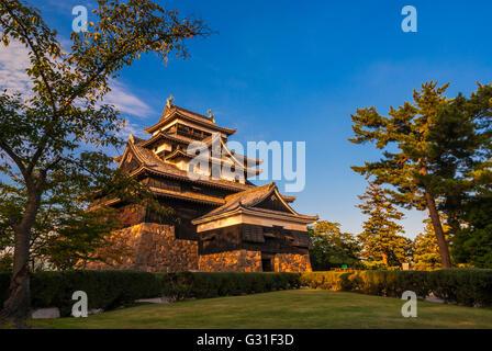 Matsue Castle, Shimane Prefecture, Japan. - Stockfoto