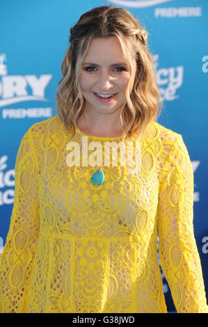 Hollywood, CA, USA. 8th June, 2016. 08 June 2016 - Hollywood. Beverly Mitchell. Arrivals for the World Premiere - Stock Photo