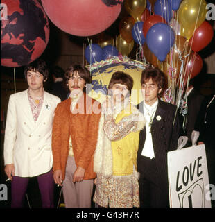 Beatles 1967 - Stock Photo