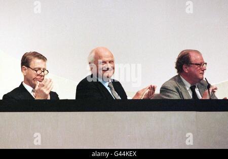 Referendum/Fox/Goldsmith/McAlpine - Stock Photo