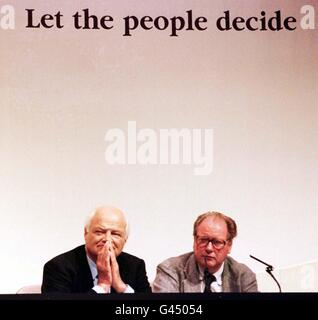 Referendum/Goldsmith/McAlpine - Stock Photo