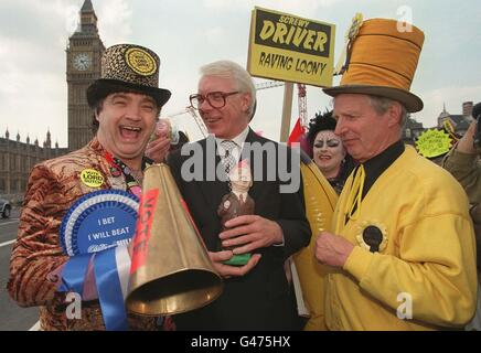 Lord Sutch news conf 2 - Stock Photo