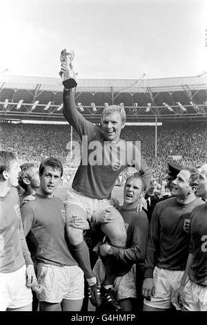England v West Germany - 1966 World Cup Final - Wembley Stadium - Stock Photo