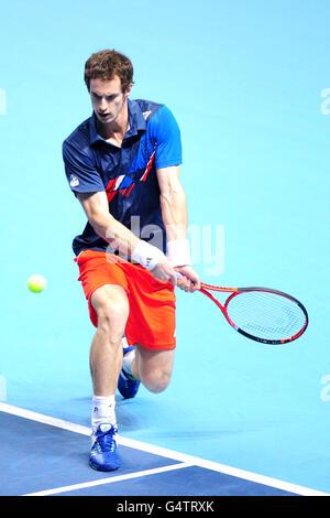 Tennis - Barclays ATP World Tennis Tour Finals - Day Two - O2 Arena - Stockfoto