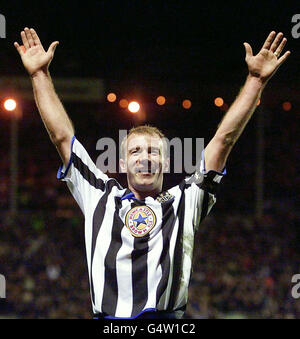 Soccer - FA Cup - 3rd Round Replay - Newcastle United v Tottenham Hotspur - St James' Park - Stock Photo
