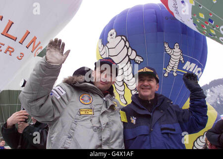 Piccard Jones Balloon Festival - Stock Photo