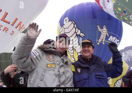 Piccard Jones Balloon Festival - Stock Photo