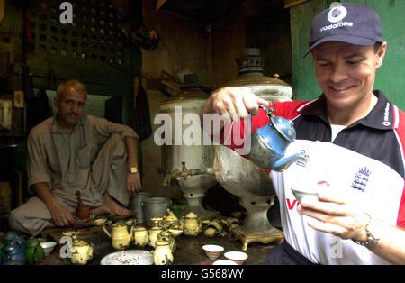 Cricket - England Tour of Pakistan - Paul Nixon - Peshawar - Stock Photo