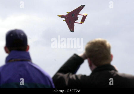 May Air Display Duxford - Stock Photo