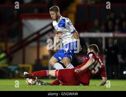 Soccer - npower Championship - Bristol City v Millwall - Ashton Gate - Stock Photo