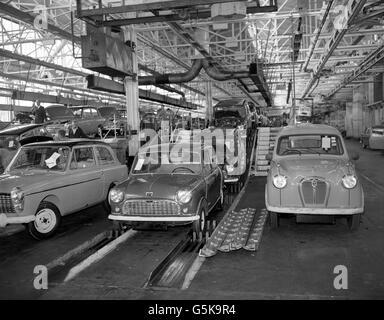 the austin car factory at longbridge birmingham 1913