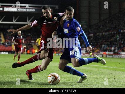 Soccer - npower Championship - Bristol City v Watford - Ashton Gate - Stock Photo