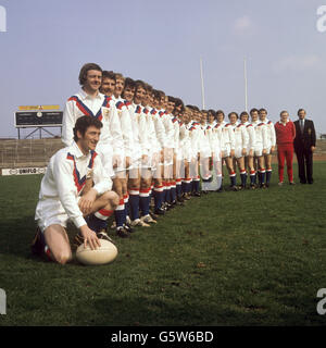 Rugby League - Great Britain Squad for Australia and New Zealand Tour - Headingley, Leeds - Stock Photo