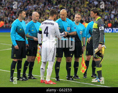 Soccer - UEFA Champions League - Semi Final - Second Leg - Real Madrid v Borussia Dortmund - Santiago Bernabeu - Stock Photo