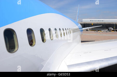 Thomson's Boeing 787 Dreamliner - Stock Photo