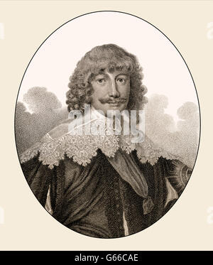 William Cavendish, 1st Duke of Newcastle upon Tyne, 1592-1676, an English polymath and aristocrat - Stock Photo