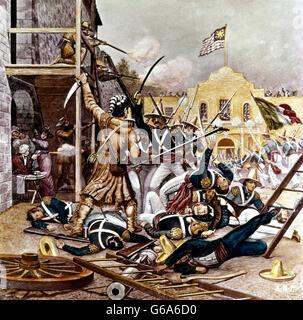 Battle Of The Alamo 1836 Stock Photo Royalty Free Image