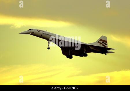 Concorde - Stock Photo