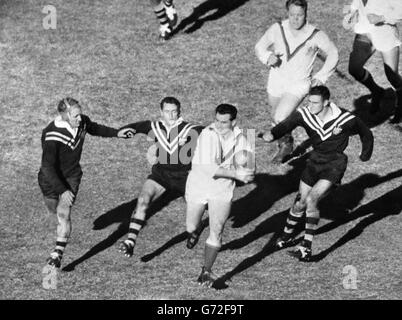 Rugby League - First Test - Australia v Great Britain - Sydney Cricket Ground - Stock Photo