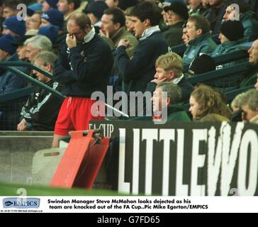 Soccer ... FA Cup 3rd Round ... Everton v Swindon Town - Stock Photo