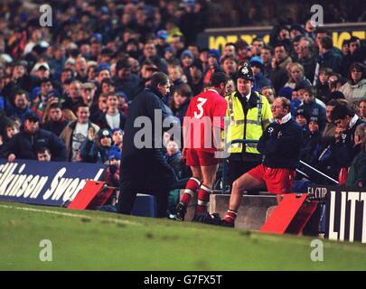 Soccer ... FA Cup 3rd Round  ... Everton -v- Swindon Town - Stock Photo