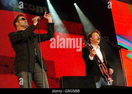 GEORGE MICHAEL & PAUL MCCARTNEY LIVE 8 HYDE PARK LONDON ...