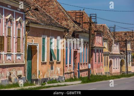Street map Biertan Romania