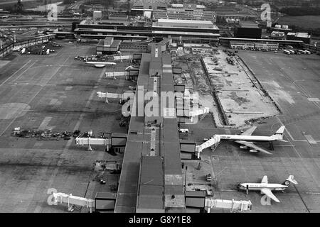 Gatwick Airport - 1978 - Stock Photo