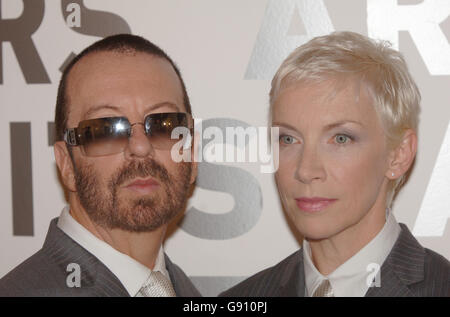 Annie Lennox Amp Dave Stewart Eurythmics 1985 Stock Photo