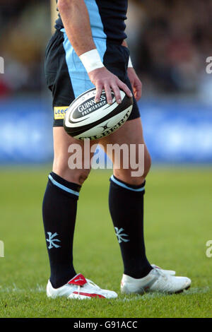 Rugby Union - Guinness Premiership - Bristol Rugby v Leeds Tykes - Memorial Stadium - Stock Photo